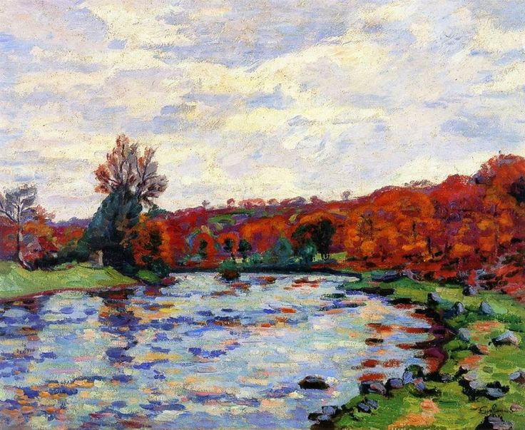 Armand Guillaumin French Impressionist painter Peintre