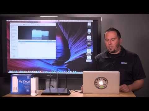 How to Setup WD My Cloud for Mac - YouTube