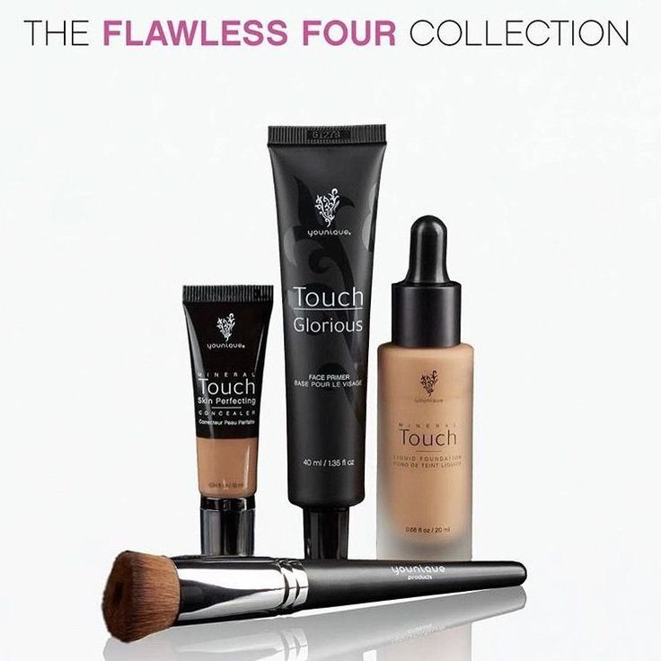 Our April Kudos is the Flawless Four Collection for $119. Essentially this means that you are getting the Liquid Foundation for absolutely FREE!!!  Haven't tried the foundation, not sure the shade to select. Get in touch and I will gladly assist you!