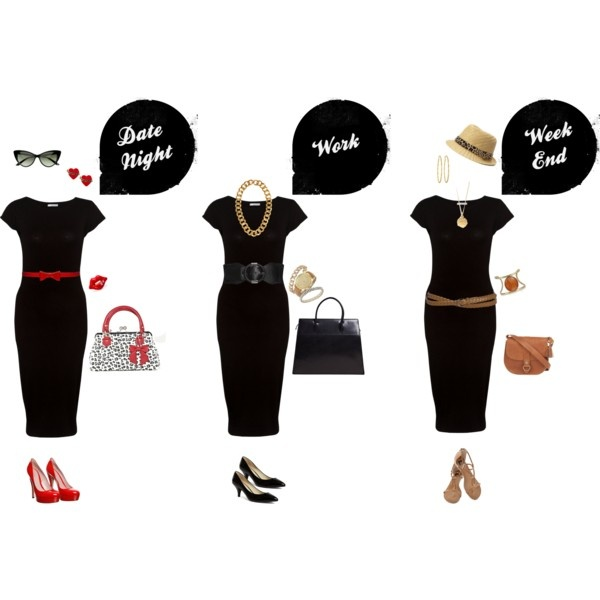 3 Ways to wear The Little Black Dress : Impatiently Waiting Paige Blog #lbd #fas…