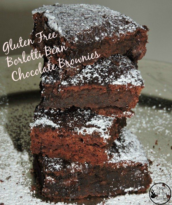 How to turn a can of beans into a gluten free chocolate brownie in 25 minutes?http://www.keeperofthekitchen.com/2016/09/21/borlotti-magic-bean-chocolate-brownies/