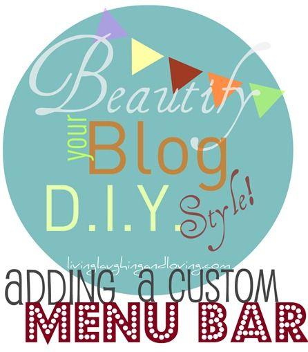 custom blog bar