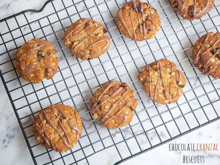 Chocolate Cranzac Biscuits