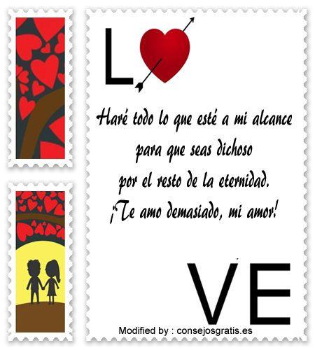 descargar frases de amor para mi enamorado,textos bonitos de amor para enviar a mi novio por whatsapp : http://www.consejosgratis.es/bellas-dedicatorias-de-amor-para-mi-pareja/
