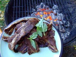 Chef Bonnie Stern's Glazed Beef ribs