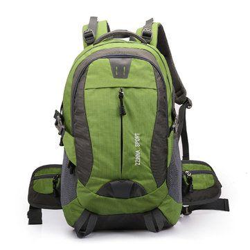 Men Sport Mochila Outdoor Travel Backpack Dacron Big Capacity Casual Backpack - US$45.58