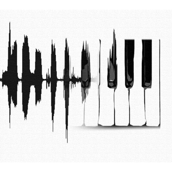 Grand Piano Graphic Vinyl Decal