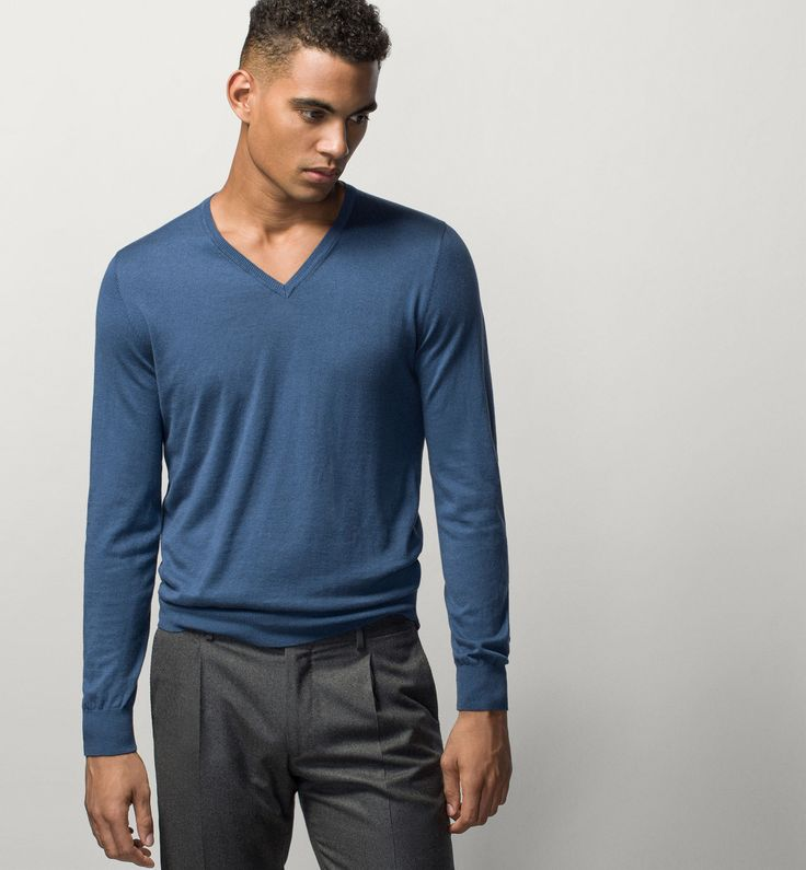 V-GENSER MED ALBUEPATCH - The Most Wanted - HERRER - Norge - Massimo Dutti