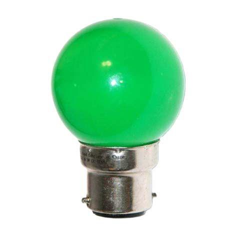 Ampoule LED SMD 4 couleur 0,62W 30lm - VERT - B22