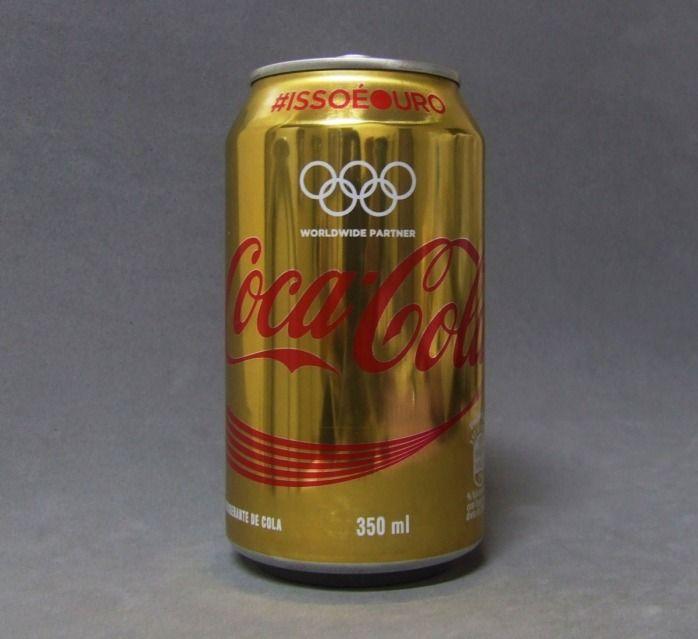 Lata de Coca Cola - Isso é Ouro - Edição Especial Olimpíadas Brasil 2016