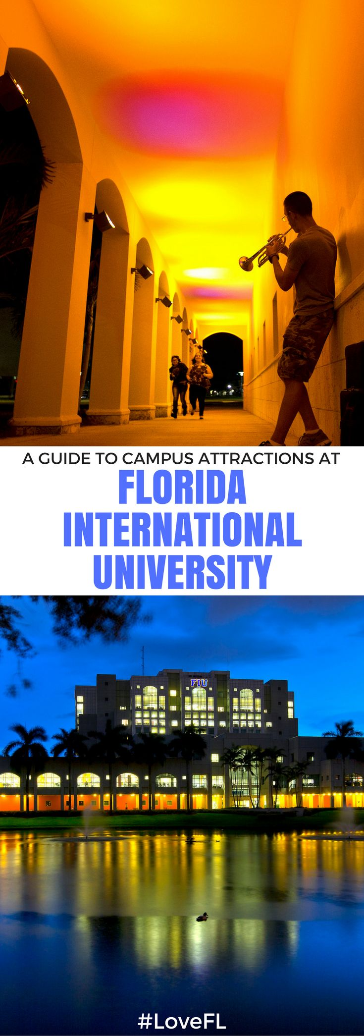 A guide to campus attractions at Florida International University | #Florida #College #Travel