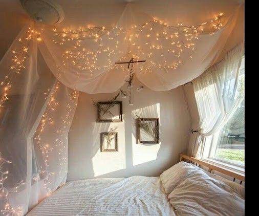 100 LED Party Fairy Light Holiday Lights Bedroom Decor Patio White 10M Gift | eBay