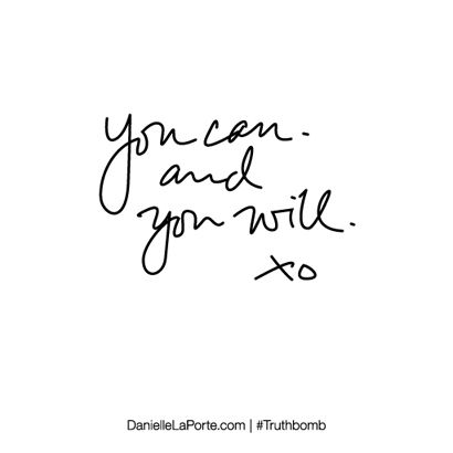 L O V A L I - you can & you will xo