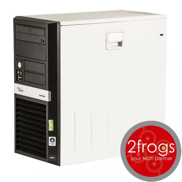 PC FUJITSU SIEMENS, Dual Core, 2GB RAM, 80GB HDD -  See more at: http://shop.2frogs.gr