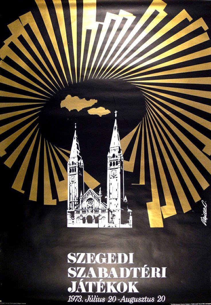 Vajda Lajos (graf.) - Szegedi Szabadtéri Játékok 1973. - Múzeum Antikvárium