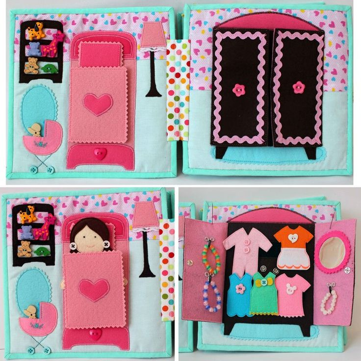 Dolls house quiet book