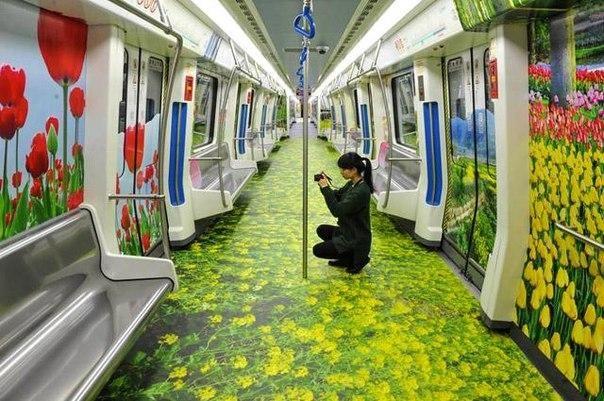 Новости Китайский метрокреатив