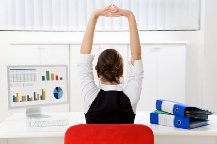 Trade naughty desk habits for healthy ones!