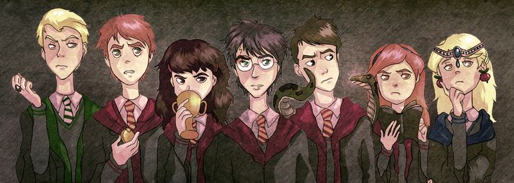 the big 7, with horcruxes