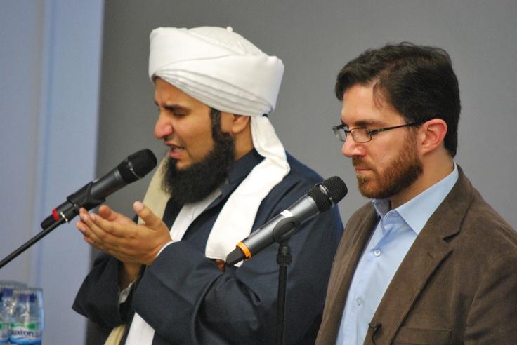Habib Ali al-Jifri and Shaykh Walead Mosaad at Friend's House