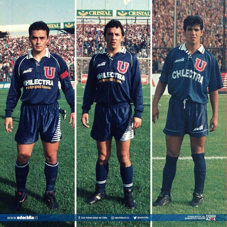 Luis Musrri (1993), Victor Hugo Castañeda (1993), Cristián Castañeda (1994)