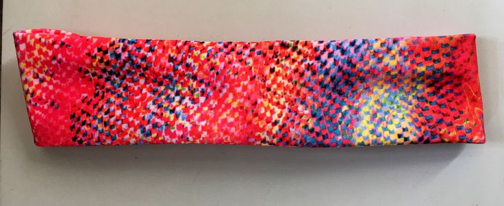 A personal favorite from my Etsy shop https://www.etsy.com/listing/495901779/pink-speckled-headband-yoga-headband