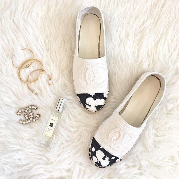 Chanel Espadrilles Authentic. Final sale. Pls ask questions before purchasing CHANEL Shoes
