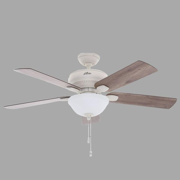 Hunter Outdoor Ceiling Fan With Light Kit