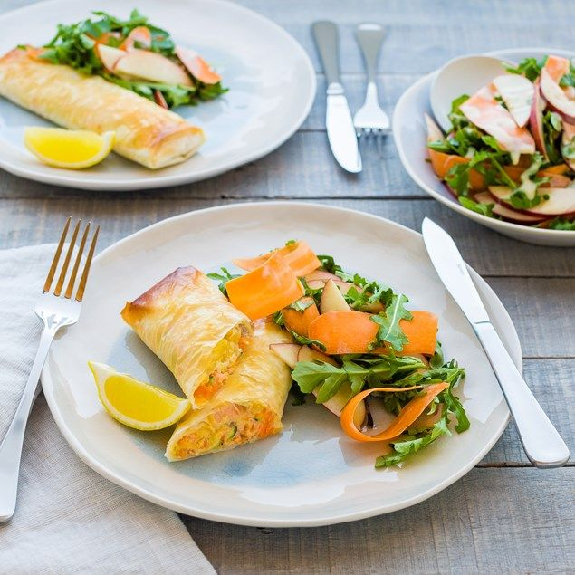 These tasty parcels are a fun way to prepare salmon!