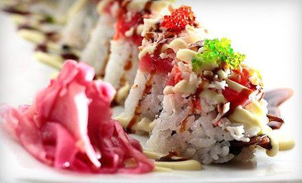 Sushi and Japanese Cuisine at Rumble Fish Sushi Cafe (Half Off). Two Options Available.
