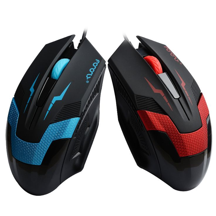2017 New 1600 DPI  USB 2.0 Wired Optical Mouse 3D Competitive & Professional Athletics Gaming Mouse For Laptop Computer PC