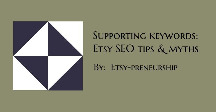 Supporting Keyword's Role in Etsy SEO (Search Engine Optimization) – Descriptions, Sections, Announcements, About Page & More [Thrive Members]