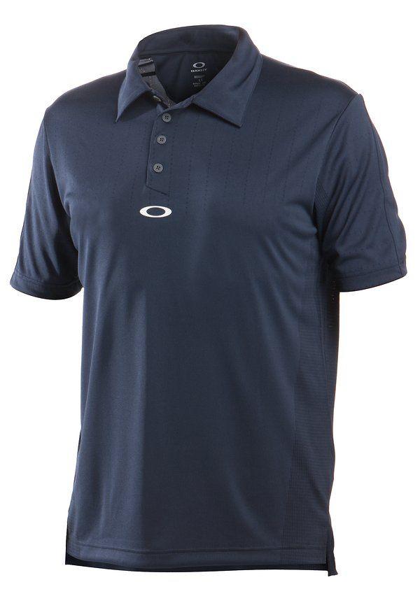 Oakley Navy Blue Golf Shirt