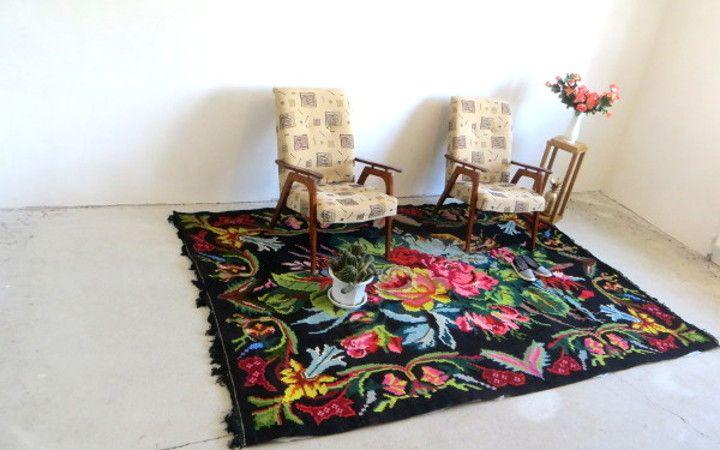 Alfombras de comedor alfombra de diseo para sala de estar alfombra con bordura gris negro crema - Alfombras patchwork baratas ...
