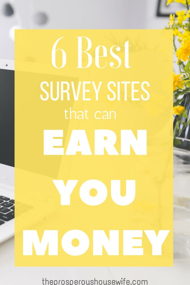 Earn online take surveys work at home