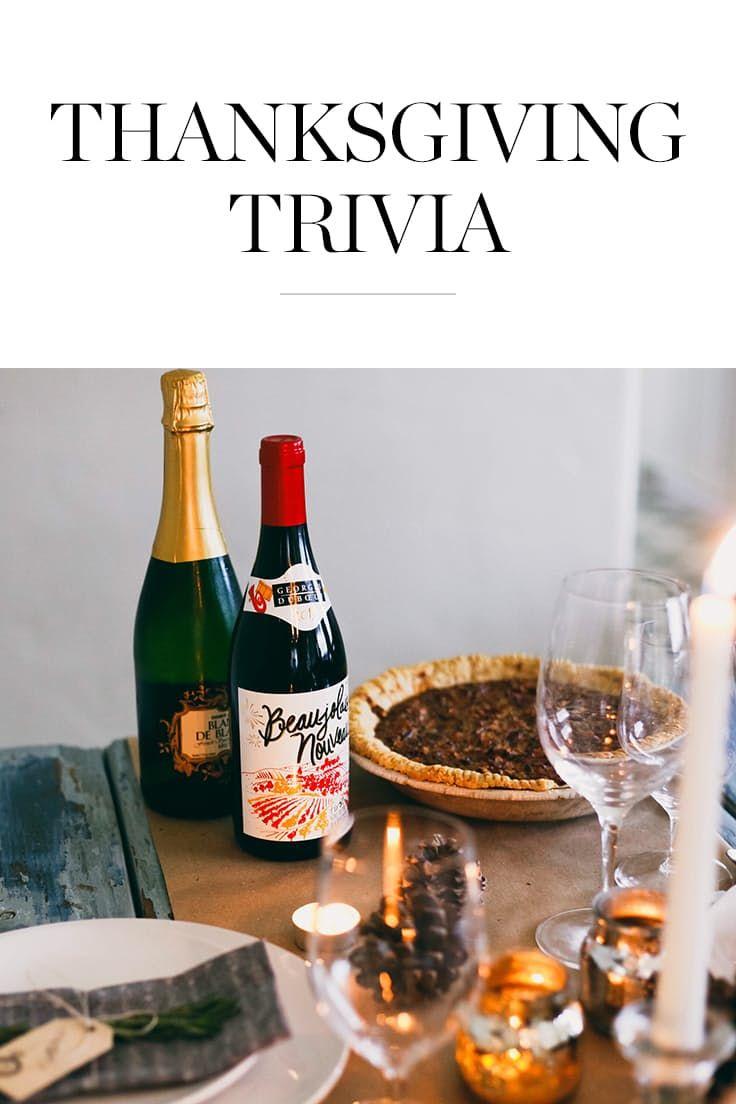 Thanksgiving Trivia They Didn't Teach You in Grade School via @PureWow