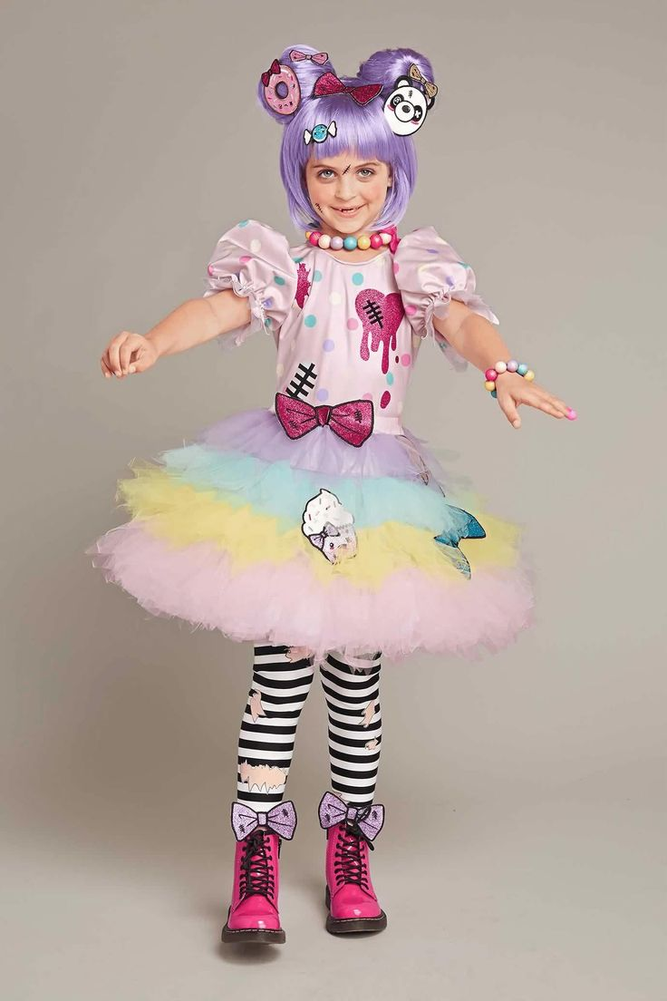 Harajuku Lovers® Zombie Costume For Girls | Chasing Fireflies