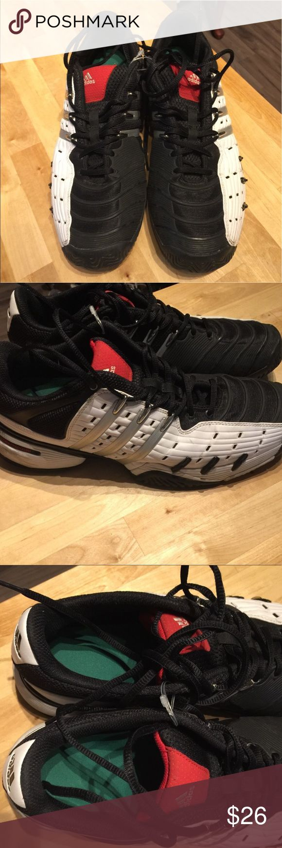 Adidas barricade like new Like New like New like New and looks so nice ! adidas Shoes Sneakers