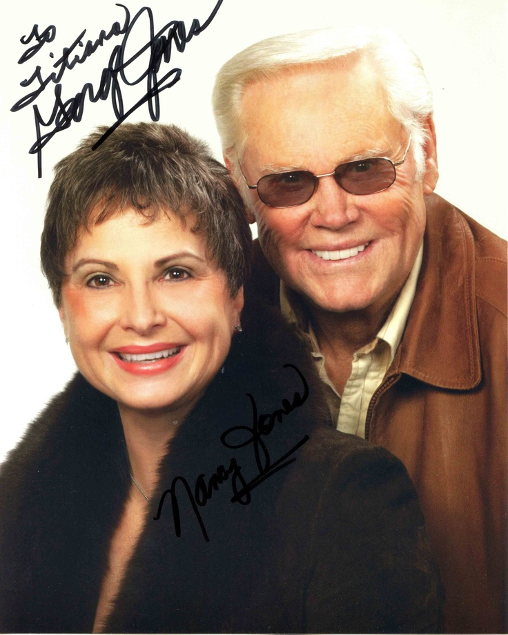 george jones  and wife nancy- Bing Images  RIP George....they have honored you well today.