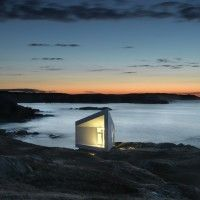 Squish studio, Saunders Architecture, Fogo Island, New Foundland, Canada