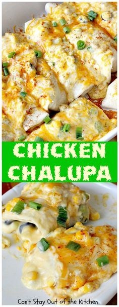 Chicken Chalupa | Can't Stay Out of the Kitchen | this fabulous #TexMex entree…