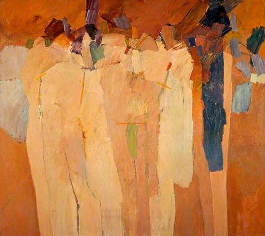 Assembly of Figures VIII - John Keith Vaughan paintings