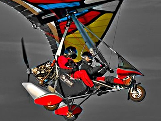 Toys For Techies : Air creation tanarg bionix ultra light aircraft techie
