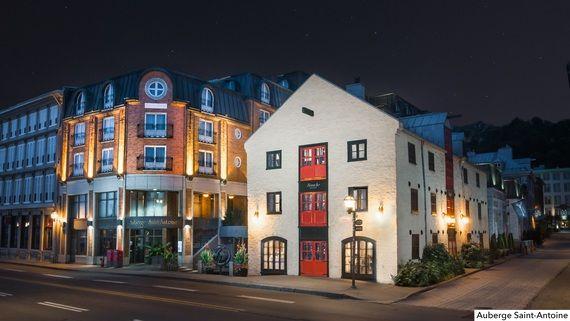 Le numéro  1: Auberge Saint-Antoine, Québec Les 10 hôtels canadiens les plus aimés des voyageurs
