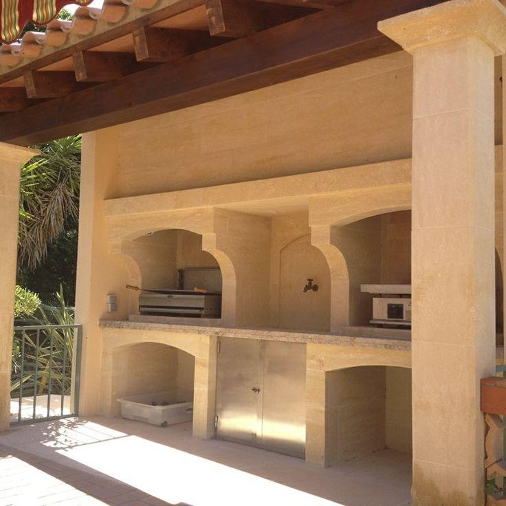 cuisine d'été inspirée par architecture marocaine