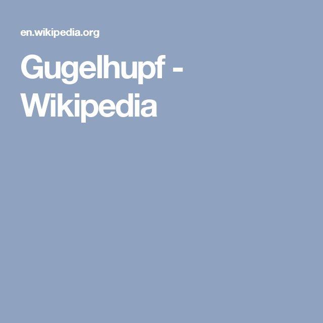 Gugelhupf - Wikipedia