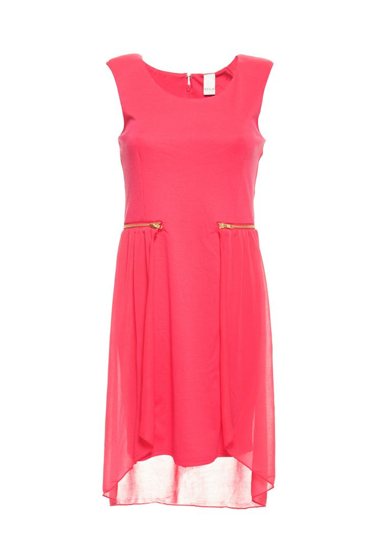 Vila dress sirin teaberry. Great pink dress. Works good in summtime, but why not in the winter? Now 50% off! Gotta buy this.