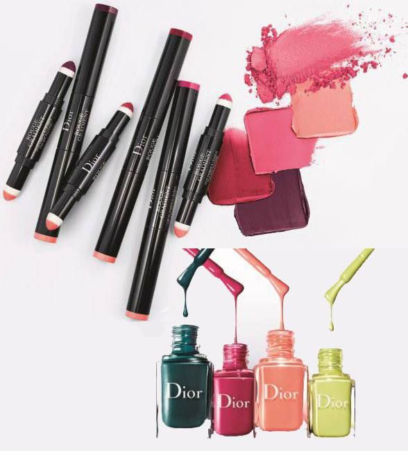 Dior Spring 2017 Colour Gradation Collection – Beauty Trends and Latest Makeup Collections | Chic Profile