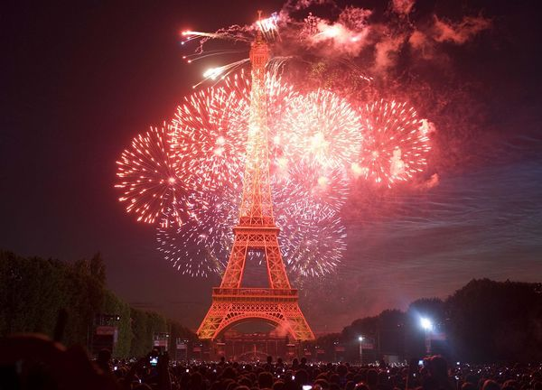 (Pictured: A breathtaking picture of fireworks going off by the Eiffel Tower on Bastille Day, with a crowd watching in awe) The French celebrate many of the holidays that are celebrated here in Canada (due to religion). This board will focus on the foods and holidays that are observed in France.