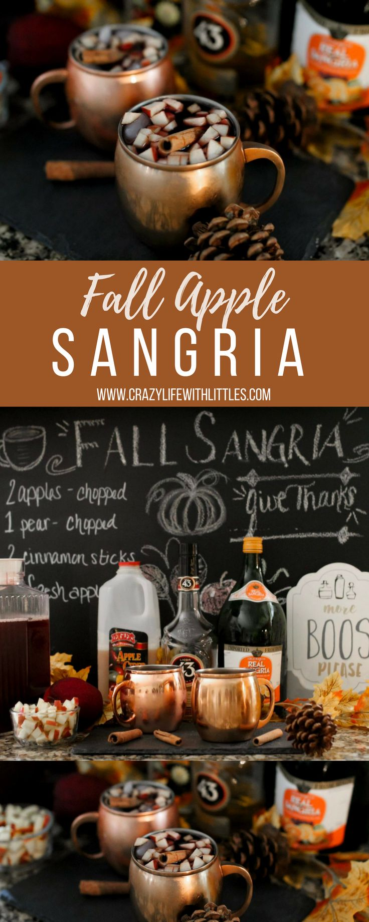 fall sangria with apple cider, honeycrisp apple sangria, fall sangria fireball, fall sangria tasty, apple cider sangria with moscato, white wine apple cider sangria, autumn sangria azalea, white apple sangria, moscow mule, copper mug drink recipe